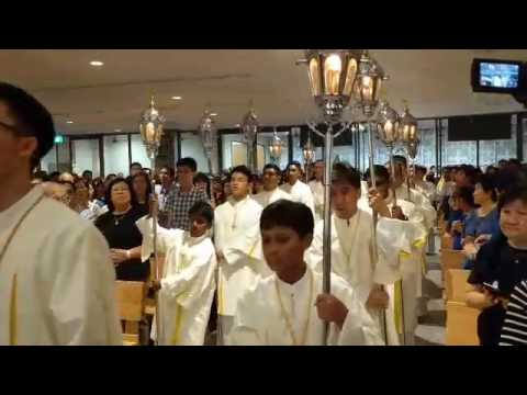 Maundy Thursday at the Church of the Transfiguration Pt 3