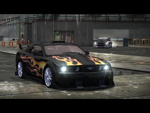 Razor's Mustang Vs Queen Jewels (Blacklist 8 - NFS Most Wanted)