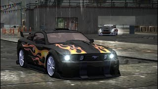 Razor's Mustang vs Queen Jewels (Blacklist 8 - NFS Most Wanted)