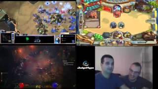 JudgeHype TV #2 - Duel Multi Jeux Blizzard #2