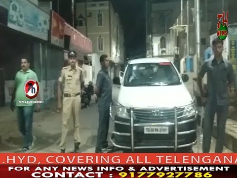 Late Night Vehicle Checking under Rein Bazar Police Limits | 7H News | Hyderabad