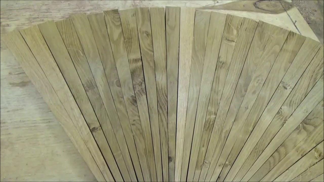 THE WORKSHOP  Planing Milled Boards  Bur Oak vs  Red Oak  The color  difference