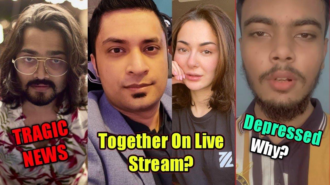 BB Ki Vines Tragic News | MrJayPlays Live With Hania Amir? | Star Anonymous Depressed Why?| KhabriYT