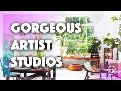Top 10 Art Studio Spaces Lofts She Sheds Creative Space Ideas