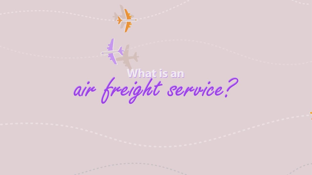Air Freight - Low Cost Air Freight Forwarding Services