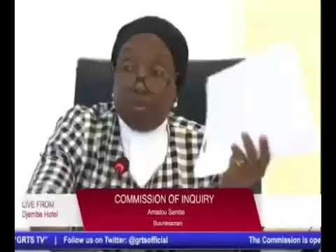 The 56TH Sitting Of The Gambia Commission Of Enquiry On (Part 1)