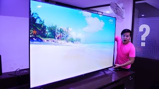 My Biggest Unboxing Ever * TCL TV * 😱🔥