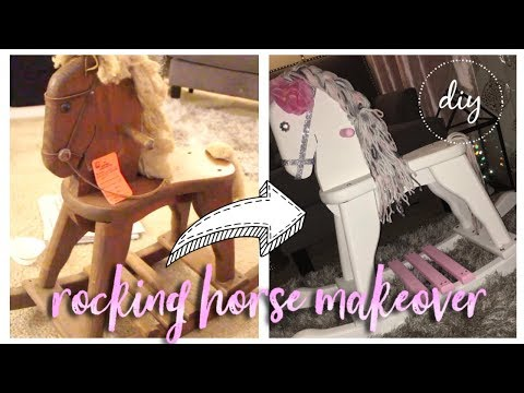 DIY NURSERY DECOR | Rocking Horse Makeover