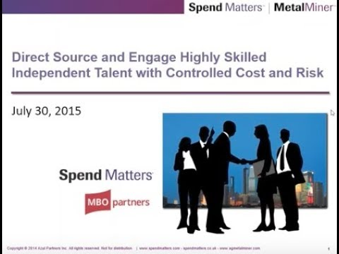 Direct Sourcing: How to Engage Highly-Skilled Independent Talent with Controlled Cost and Risk