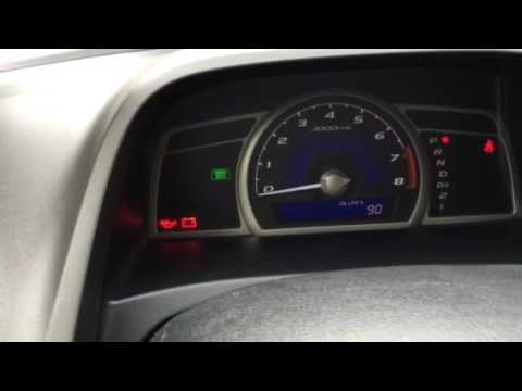 Honda Civic 2006 2017 How To Reset Maintenance Light Oil Life Indicator