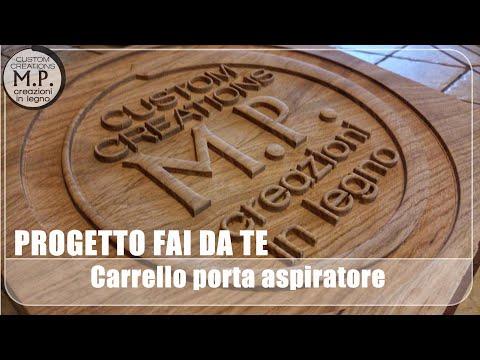 Progetto Fai Da Te - Carrello porta aspiratore e porta elettroutensili