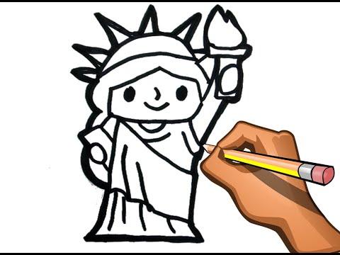 como-dibujar-facil-estatua-de-la-libertad-dibujo-facil-estatua-de-new-york
