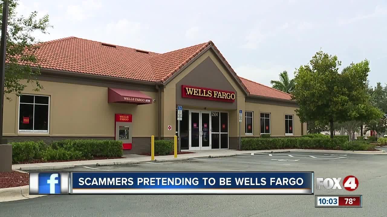 Wells Fargo Text Alert Scam