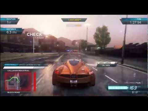 """Need For Speed: Most Wanted (2012) Part 32 """"Most Wanted List Racer #1 Koenigsegg Agera R (2013)"""""""