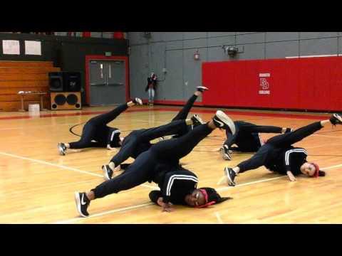JV Hip Hop at David Douglas High School Competition