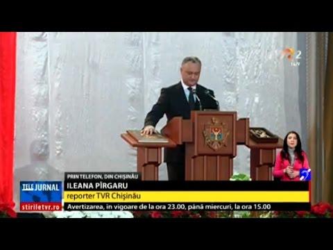 Igor Dodon cere revocarea ambasadorului moldovean la București
