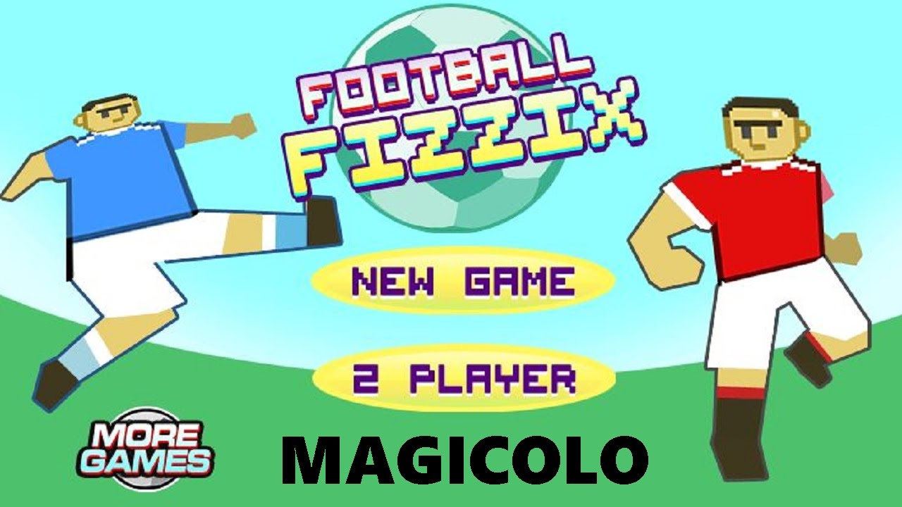 Image result for Football Fizzix -2 player fighting games