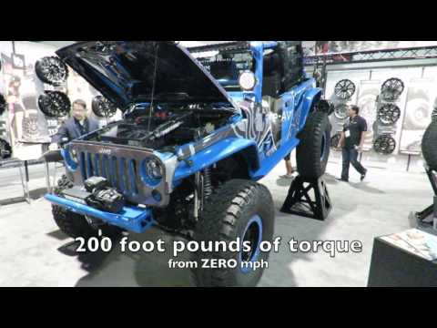 Electric motor conversion kit for Jeeps - is this a good bug out vehicle?