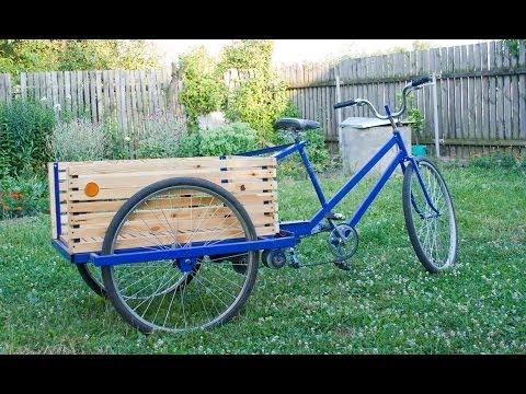 Велосипеды грузовые своими руками