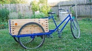 Cargo bike with his hands грузовой велосипед своими руками 2