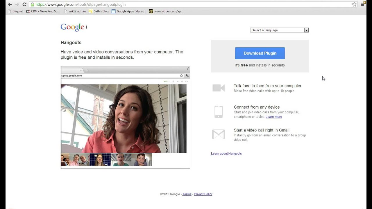 Introduction to Starting a Google Hangout