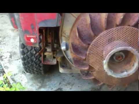 Vintage 1974 Troy Bilt Horse Rear Tine Tiller 8 Hp Kohler Magnum Cast Iron Engine