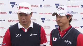 2016 ISPS HANDA World Cup of Golf - Team Japan Rd 4 Best shots & ...