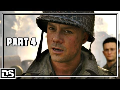 Call of Duty WW2 Gameplay German #4 - SniperKillerOne - Let's Play Call of Duty WW2 Singleplayer