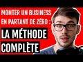 Monter un business en ligne en partant de zéro en 2019 : La méthode complète