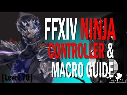 FFXIV Ninja Controller And Macro Guide [Level 70]
