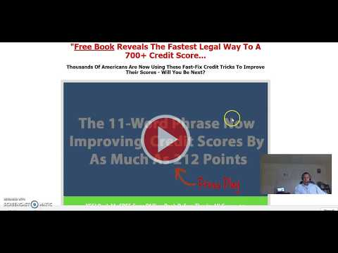Free Credit Repair Do It Yourself Credit Repair Software Plus Score