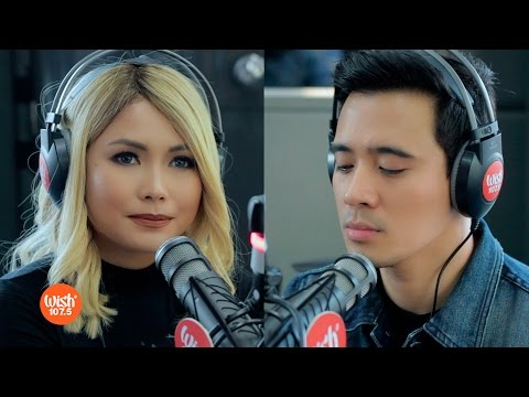 "Yeng and Erik perform ""Paano Ba Ang Magmahal"" LIVE on Wish 107.5 Bus"