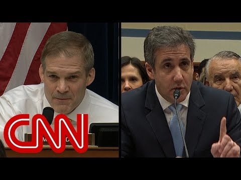 GOP lawmaker clashes with Cohen over credibility