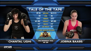 Fight of the Week: Ouch! Those Leg Kicks From Jorina Baars at Lion Fight 20