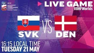 Slovakia vs. Denmark | Full Game | 2019 IIHF Ice Hockey World Championship