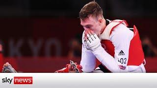 Sinden wins Silver at Tokyo 2020 in the taekwondo final