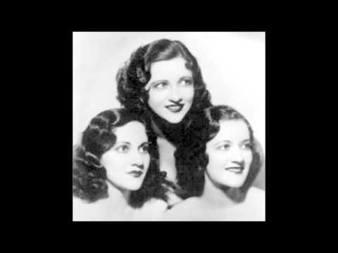 The Boswell Sisters - The music goes round and around