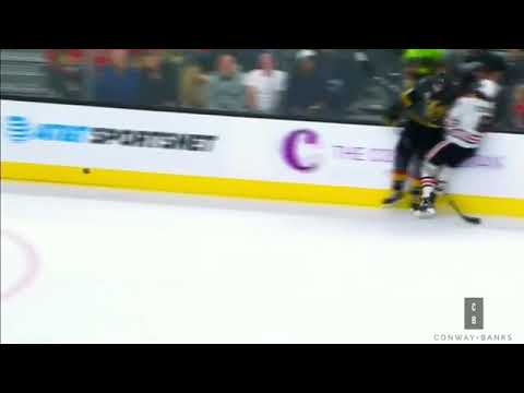Biggest NHL hits from October