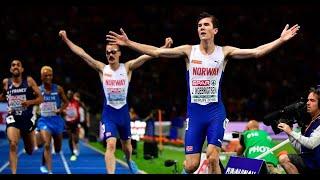 Leichtathletik-EM: Jakob Ingebrigtsen gewinnt Gold über 5000 Meter
