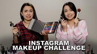 Instagram Makeup Challenge - Merrell Twins