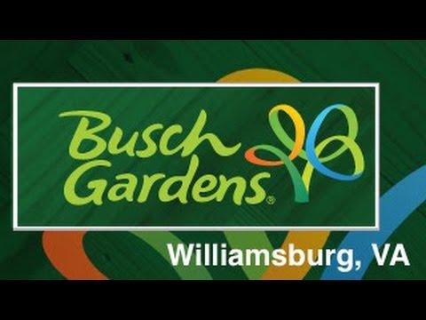 Busch Gardens Williamsburg, VA Vlog!  (Part 1)