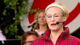 Måns Zelmerlöw och Filippa Bark-Allsång på Skanse-Orm