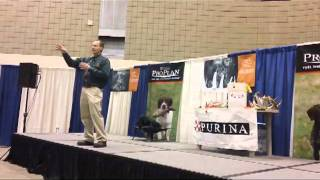 Huntemup.com - Antler Tracking / Shed Dog Seminar With Tom Dokken (part 1)
