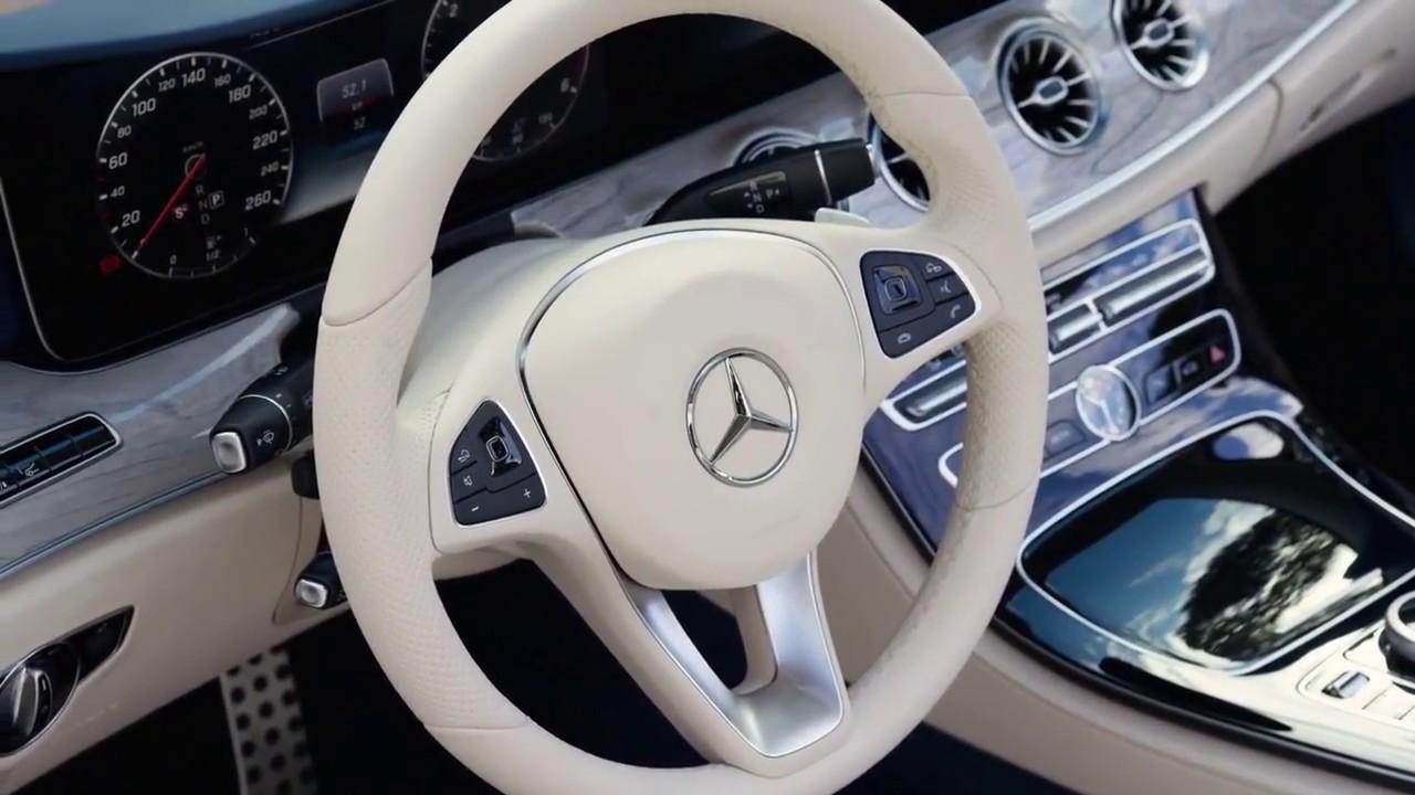2018 Mercedes Benz E Class Cabriolet Amg Line Interior And Exterior