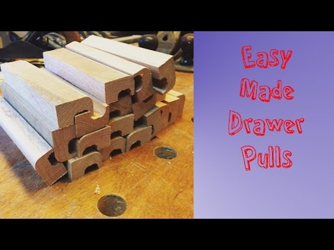 Easy Made Drawer Pulls