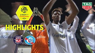 Toulouse FC - RC Strasbourg Alsace ( 1-2 ) - Highlights - (TFC - RCSA) / 2018-19