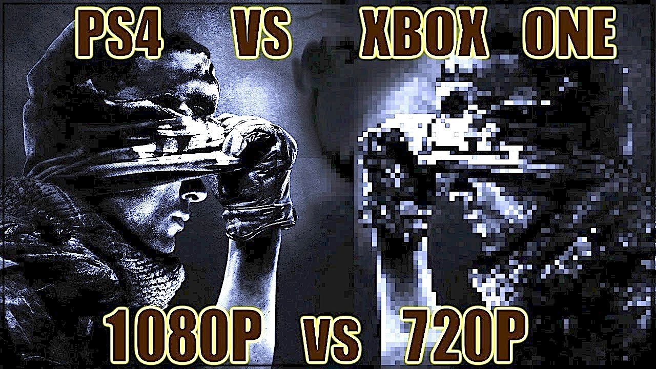 PS4 1080p vs XBOX ONE 720P - Next-Gen Power Struggle - YouTube
