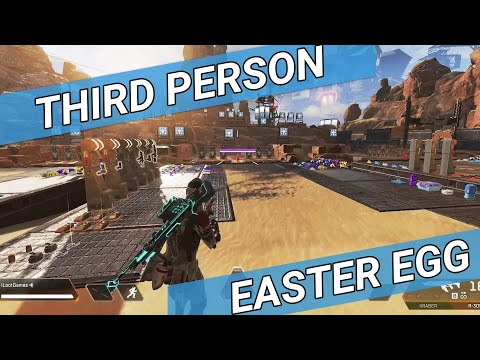 *NEW* Apex Legends Third Person Easter Egg - HOW TO!!