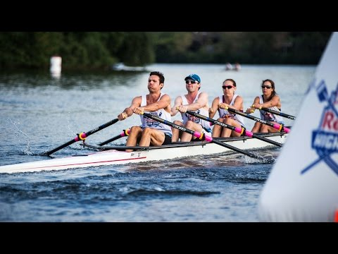 Head-to-Head Rowing Race in the Charles River - Red Bull High Stakes