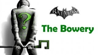 """Batman Arkham City"", ALL Riddler"